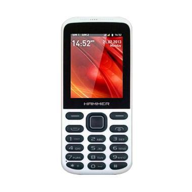 Advan Hammer R3D Handphone - Putih [Dual SIM]
