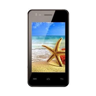 Advan Vandroid S3A Hitam Smartphone + Softcase
