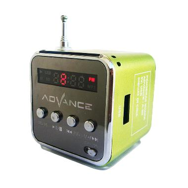 Advance A-2N Green Speaker Portable