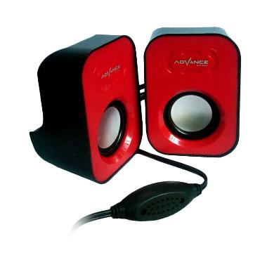 Advance Duo-026 Red Speaker USB