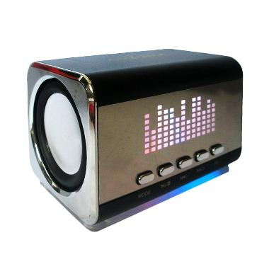 Advance Duo-03 A Black Speaker Portable
