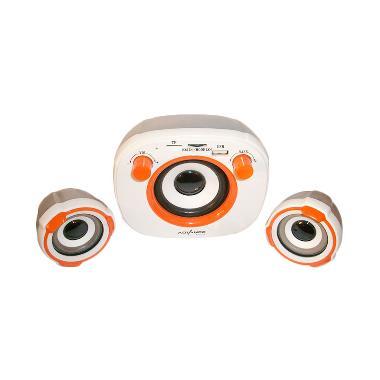 Advance Duo-400A Putih Orange Speaker USB