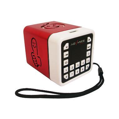 Advance R-1 Xtra Power Sound Mini Speaker Portable - Merah