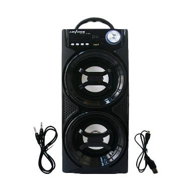 SP Advance H-24A Hitam Speaker Portable  + Remote