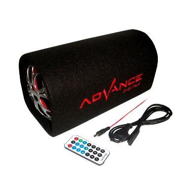 Advance T-101KF Black Speaker [FM /5 inch] + Karaoke