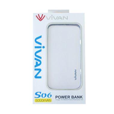 Vivan Original S06 White Powerbank  ...