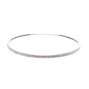 Agatha Paris Ceramique 2420173-136-PM Silver Gelang
