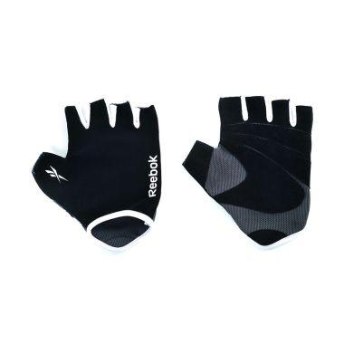 Reebok Black Fitness Gloves Sarung  ...