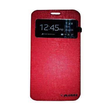 Aimi Flipcover Casing for Oppo Joy 3 A11W - Merah