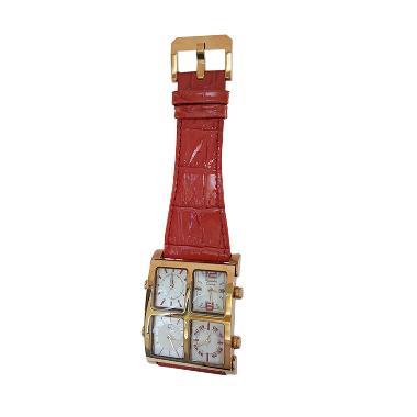 Alexandre Christie 141268 Analog Ta ... Rose Gold Kombinasi Merah