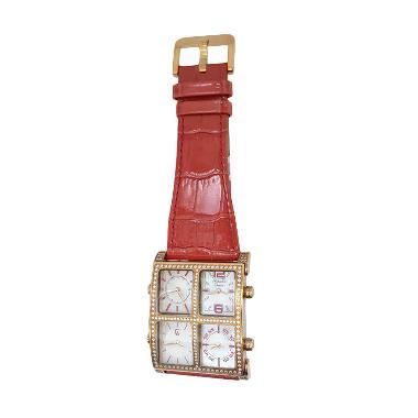Alexandre Christie 141269 Analog Mo ... Rose Gold Kombinasi Merah