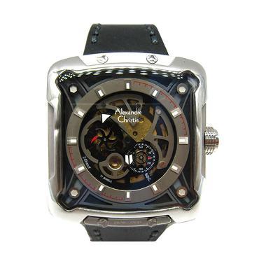 Alexandre Christie 1430836 Automati ...  - Silver Kombinasi Hitam