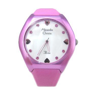 Alexandre Christie 2386 LHRPNSL Jam Tangan Wanita - Pink