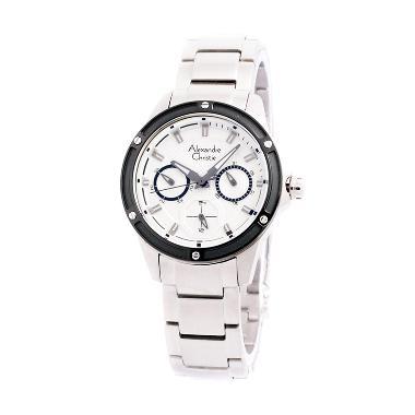 Alexandre Christie 6386 Stainless Steel Jam Tangan Wanita - Putih
