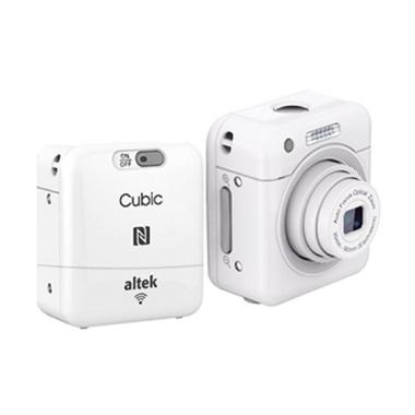 harga Altek Cubic Smart Mini Wireless Cube Camera Selfie - Putih Blibli.com