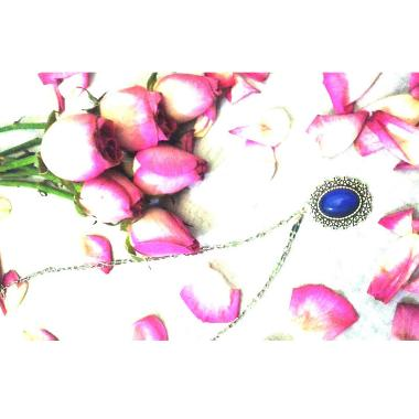 Amefurashi Benih Bunga Kalung Moody Beautiful Necklace
