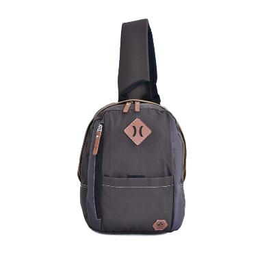 Amooba Backpack Armor Sling Bag - Brown