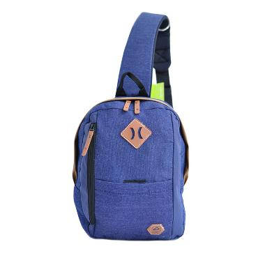 Amooba Backpack Armor Sling Bag - Dark Blue