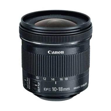 Canon Lensa EF-S 10-18mm f/4.5-5.6 IS STM