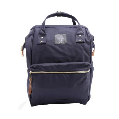 Anello Oxford Multifungsi Backpack Tas Ransel - Navy