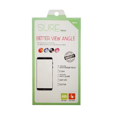 Sure Premium Anti Gores Screen Protector for Oppo F1 S [Glare/HD]