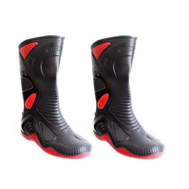 AP Boots Sepatu Pengendara Sepeda Motor Ukuran 41 - Hitam [SEP8004]