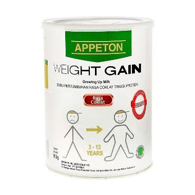 Jual Appeton Weight Gain Child Coklat PROMO 900gr Online