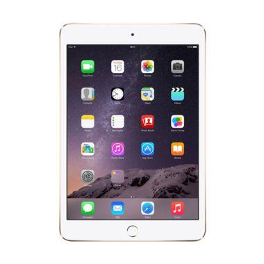 Apple iPad mini 3 Gold Tablet [16 GB/Wi-Fi/Garansi Resmi]
