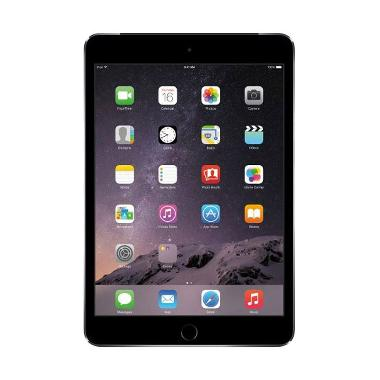 Apple iPad mini 3 16GB Tablet - Grey [Wi-Fi+Cell/Garansi Resmi]