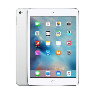Apple iPad Mini 4 128GB Tablet - Silver [Garansi Resmi/WiFi Only]