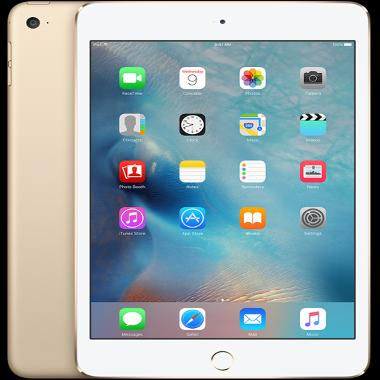 Apple iPad Mini 4 Gold 64 GB Tablet ...
