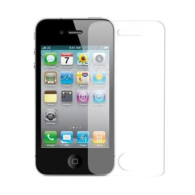 Apple iPhone 4S 16 GB Smartphone - Hitam + Free Tempered Glass