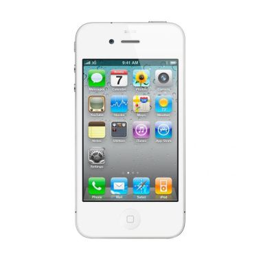 Apple iPhone 4S 32 GB Smartphone - Putih [Refurbished]
