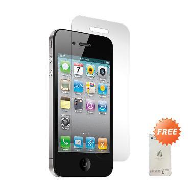 Apple iPhone 4S Black Smartphone [32 GB] + Tempered Glass