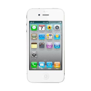 Apple IPhone 4S 16GB Smartphone - White [Refurbished/ Garansi Distributor]