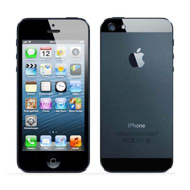 Apple iPhone 5 32GB Smartphone - Hitam + Free Tempered Glass