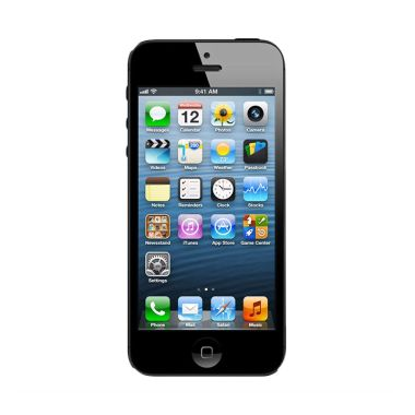 Apple iPhone 5 32GB Smartphone - Hitam