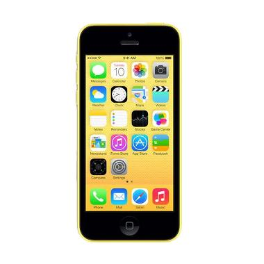Apple iPhone 5C 32GB Smartphone - Kuning [Garansi Distributor]