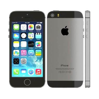 Apple iPhone 5S 16 GB Smartphone - Grey [Garansi Resmi]