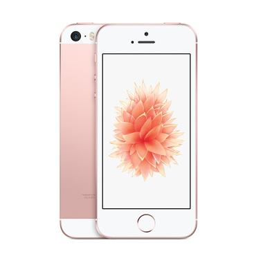 Apple iPhone SE 16 GB Smartphone - Rose Gold Free Tongsis