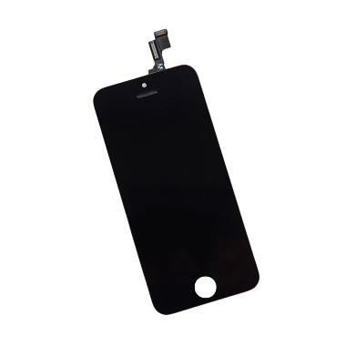 Apple LCD and Touch Screen Assembly Replacement for iPhone 5S - Black