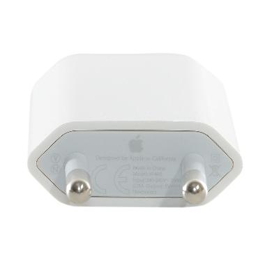 Apple Original Adaptor Charger for iPhone - White [A1400]