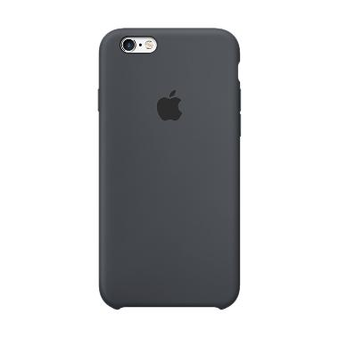 Apple Silicone Casing for iPhone 6 Plus or 6S Plus - CHARCOAL GRAY