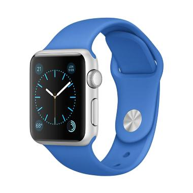 Jual Apple Watch Silver Aluminum Case Smartwatch with