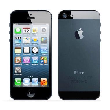Apple iPhone 5 16 GB Smartphone - Hitam(Refurbish)
