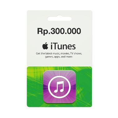 iTunes Gift Card Region Indonesia Rp.300.000 ec12aad02c