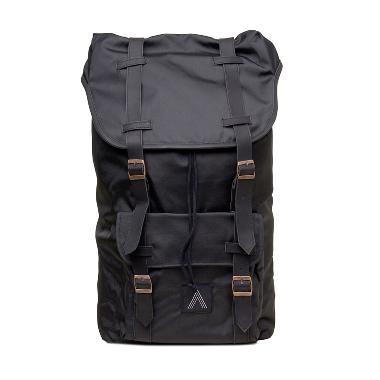 Applecoast Leather Tas Pria - Black