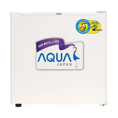 AQUA AQRD50F Kulkas Portable - White