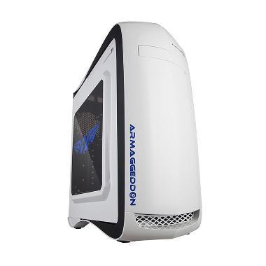 Armaggeddon Elvatron T11 Casing Komputer - Putih