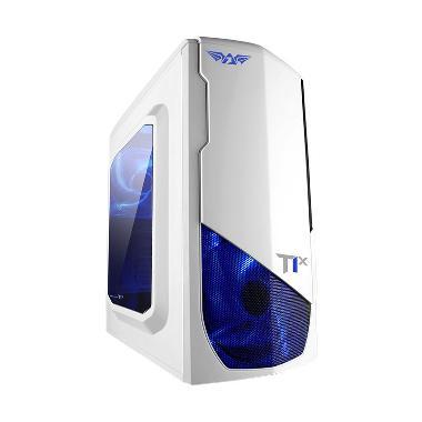 Armaggeddon NanoTron T1X Casing Komputer - Putih